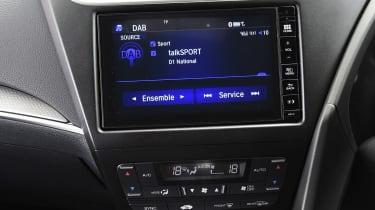 Honda Civic Sport - infotainment screen
