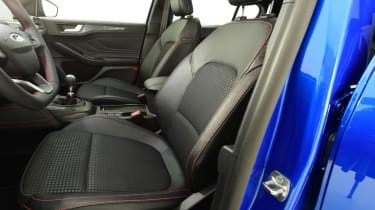 New Ford Focus studio - front seats