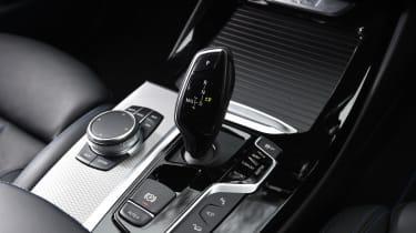 BMW X3 - gear lever