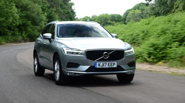 Volvo XC60 - front tracking