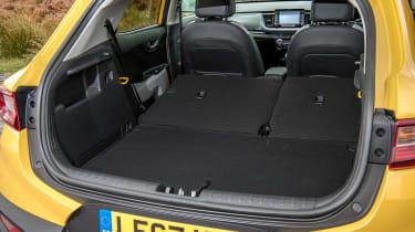 Kia Stonic UK review - boot