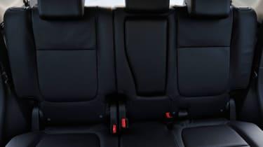 Mitsubishi Outlander PHEV 2014 rear seats