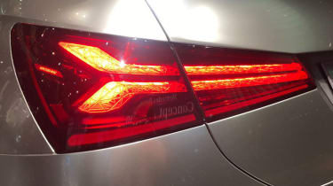 Mercedes concept A taillight