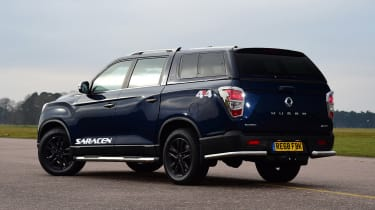 SsangYong Musso - rear static