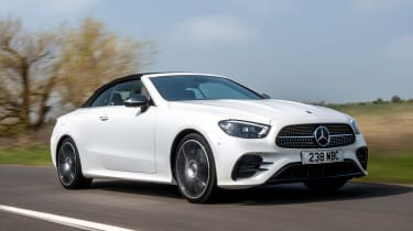 Mercedes E 300 Cabriolet - front tracking