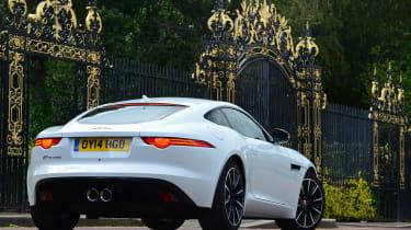 Jaguar F-Type Coupe V6 rear static