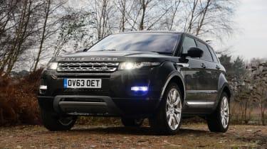 Land Rover Range Rover Evoque static