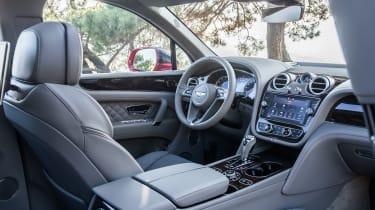 Bentley Bentayga luxury SUV interior