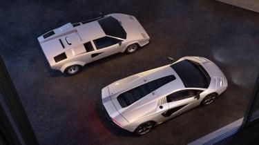 Lamborghini Countach LPI 800-4 roof