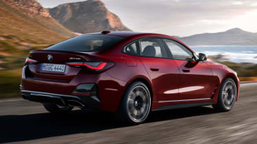 BMW 4 Series Gran Coupe - rear tracking