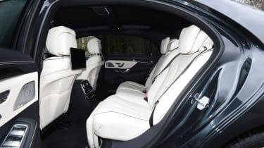Mercedes S-Class - back seats