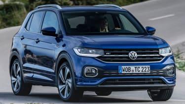 Volkswagen T-Cross - front tracking