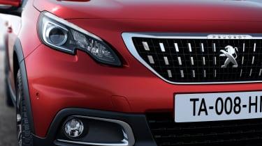 Peugeot 2008 2016 - front