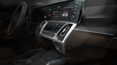 Kia Sorrento - sketch - infotainment