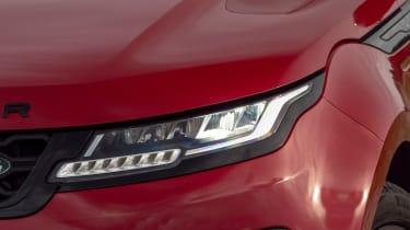 Range Rover Evoque headlight