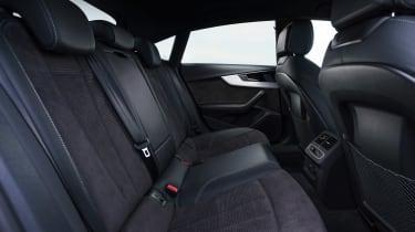 Audi A5 Sportback - rear seats