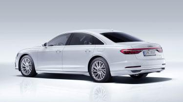 Audi A8L PHEV - rear