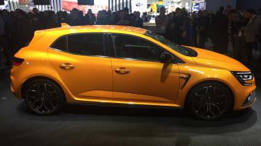 New Renault Megane RS - side