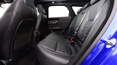Jaguar XF Sportbrake - rear seats