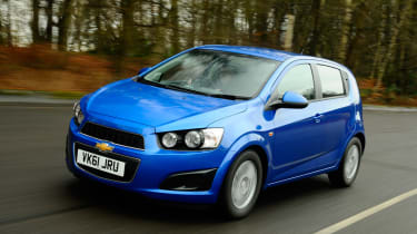 Chevrolet Aveo front tracking