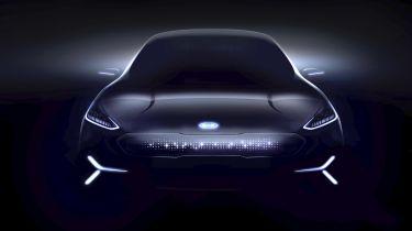 Kia Niro EV concept CES 2018 teaser front