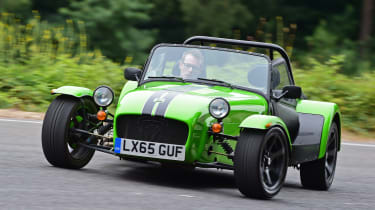 Long-term test review: Caterham 310S - drift 3