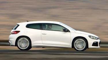 Volkswagen Scirocco R panning