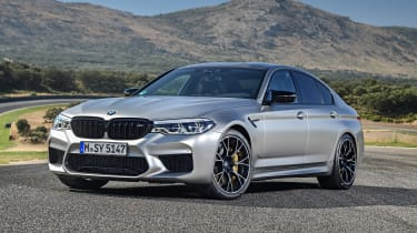 BMW M5 Competition - front static