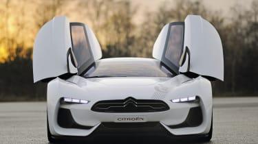 Citroen GT - doors open