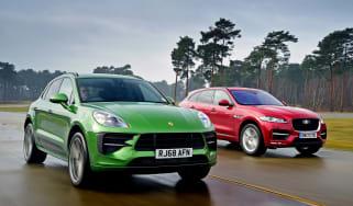 Porsche Macan vs Jaguar F-Pace - header