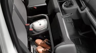 Citroen Dispatch under seat storage