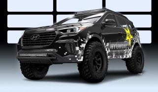 Hyundai SEMA Santa Fe