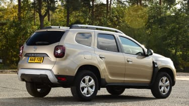Dacia Duster rear