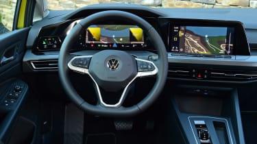 Volkswagen Golf Mk8 - interior