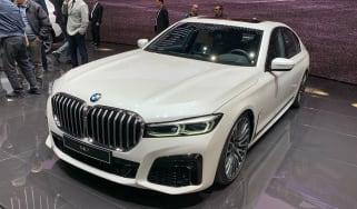 BMW 7 Series facelift - Geneva front