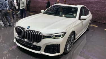 BMW 7 Series facelift - Geneva front