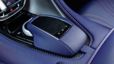 Aston Martin DB11 V8 - infotainment controls