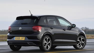 vw polo static rear quater