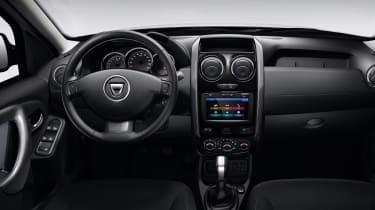 Dacia Duster 2017 interior