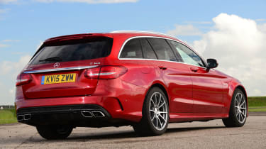 Mercedes-AMG C 63 Estate - rear static