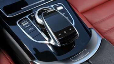 Mercedes C-Class 2014 console