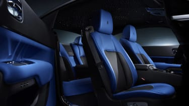 Rolls Royce Black Badge wraith cabin