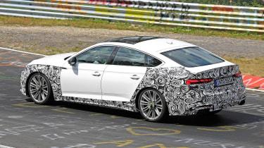 Audi S5 Sportback - spyshot 5