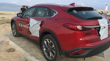 Mazda CX-4 rear light camo