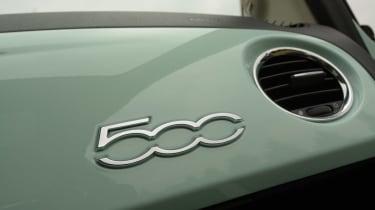 Fiat 500 Cult 2014 dash
