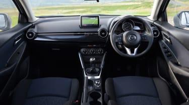 Mazda 2 Sport Black interior