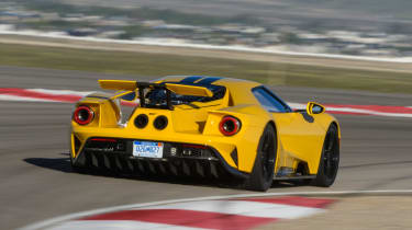 Ford GT - track rear cornering