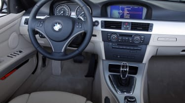 BMW 3 Series Convertible interior