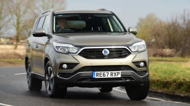 SsangYong Rexton long term - first report front