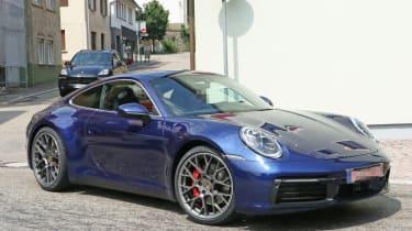 Next generation Porsche 911 front quarter